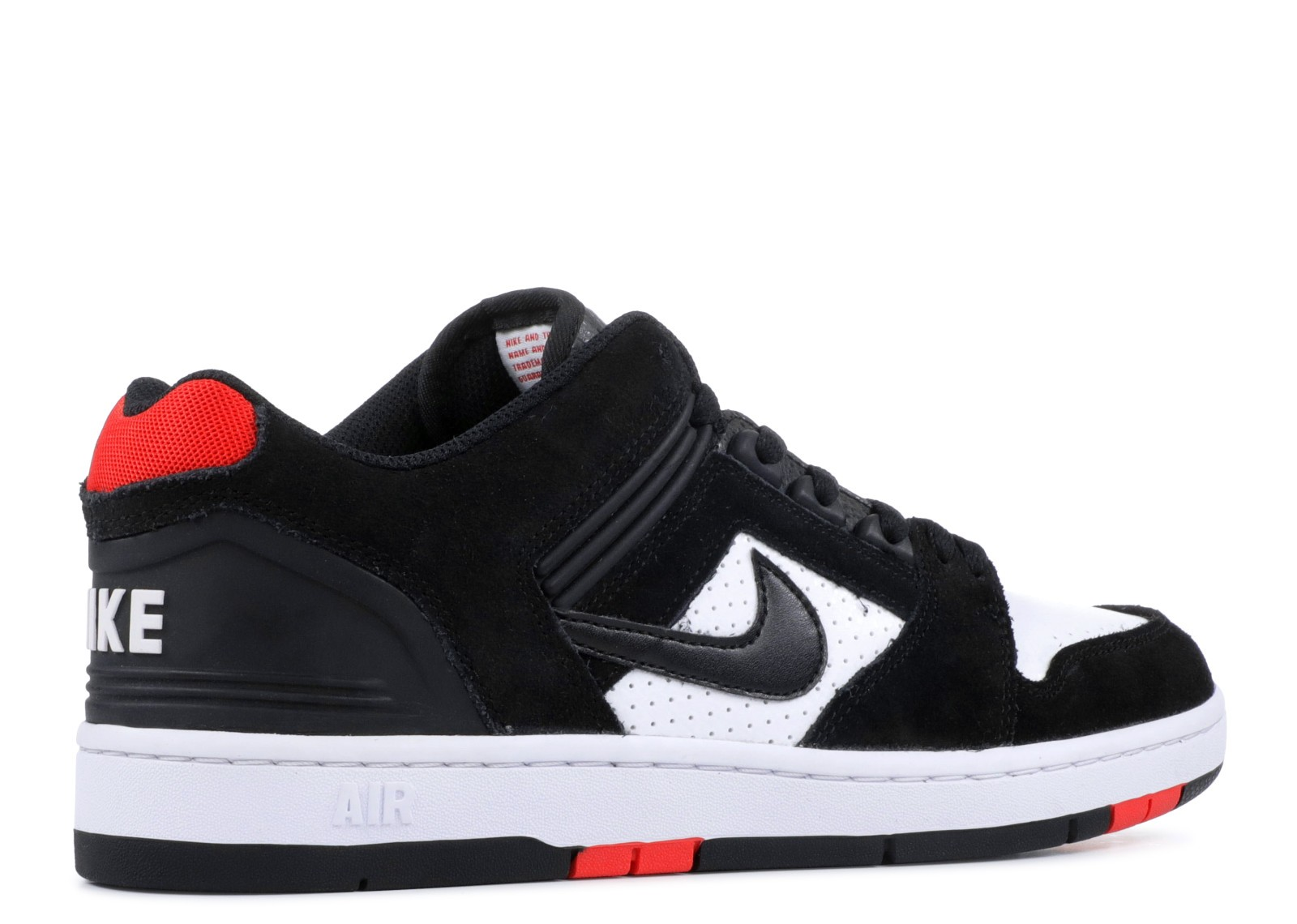 nike air force 2 low black