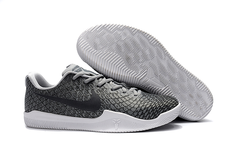 new arrivals 48d85 75452 Prev Nike Kobe Mentality 3 Men Shoes Sneaker Basketball Gridding Wolf Grey  White. Zoom
