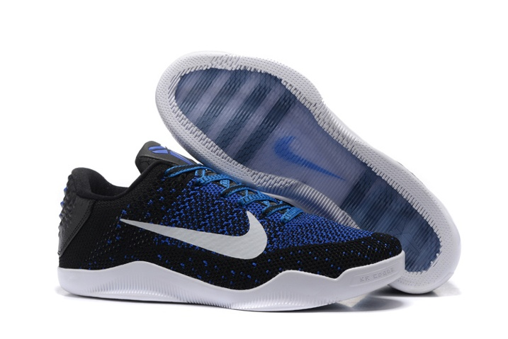 3efb64628fa6 Prev Nike Kobe XI 11 Elite Low Muse III Mark Parker Black Blue White  Basketball Shoes 822675