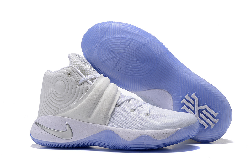 sale retailer 836b4 b89a0 Prev Nike Kyrie 2 EP Irving White Silver Speckle Pack Men Basketball Shoes  852399-107. Zoom