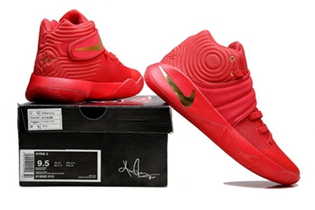 timeless design 9138b 69361 ... Nike Kyrie II 2 Pure Red Gold Men Shoes Basketball Sneakers 819583-010  ...