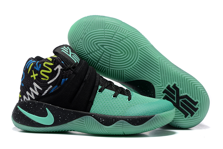 new arrival 98388 df905 Prev Nike Zoom Kyrie II 2 Men Basketball Shoes Black Green Yellow 898641