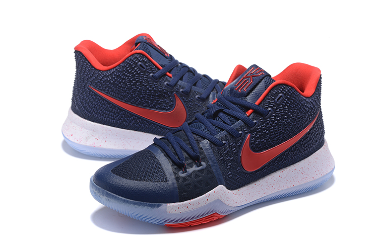 1f75db862d4 Nike Zoom Kyrie 3 EP Navy Blue Red White Men Shoes - Sepsport