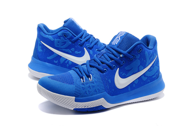 kyrie 3 blue shoes
