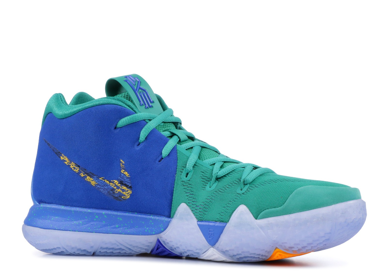 Kyrie 4 NBA 2k18 Friends And Family