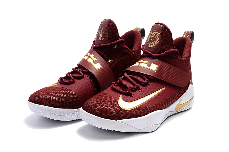 more photos 903f8 ee81e Nike Zoom Lebron Soldier 11 XI knight red white Men Basketball Shoes