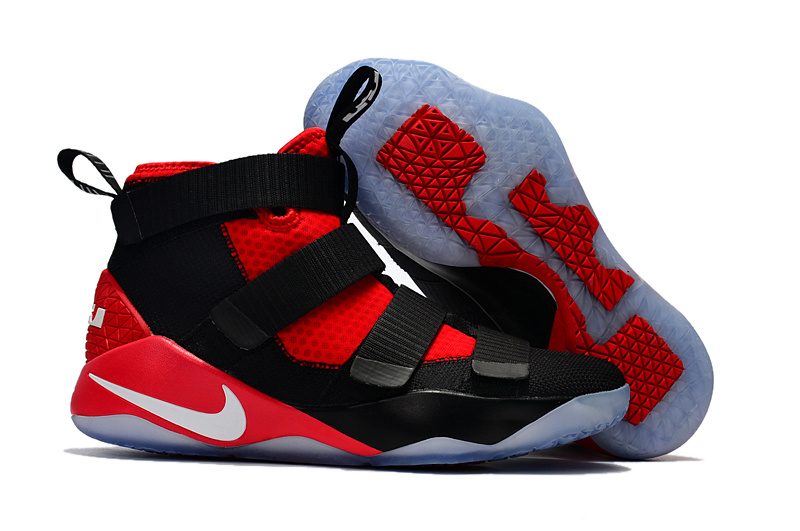 e9ee88c112e0 Prev Nike Zoom Lebron Soldiers XI 11 black red Men Basketball Shoes. Zoom