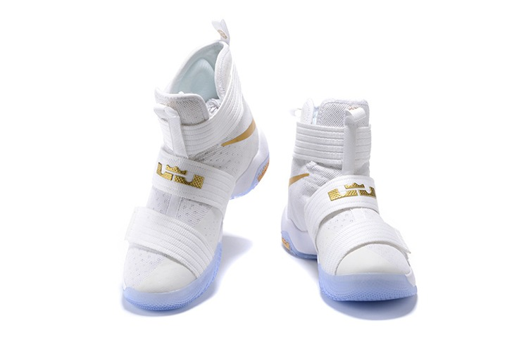 lowest price 14ed2 b509b ... Nike Lebron Soldier 10 SFG EP X James Strive for Greatness White Gold  844379-101 ...