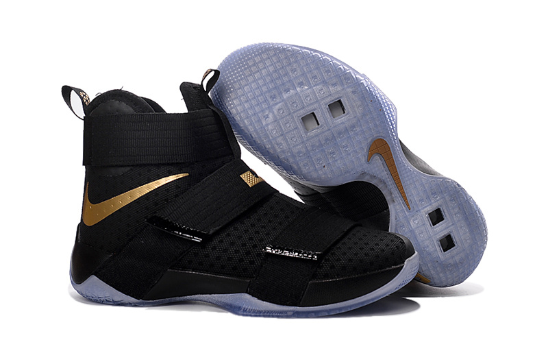7c8ed2fce10 Prev Nike Lebron Soldier 10 X MVP Gold Black Chanmpionship Basketball Shoes  Men Sneaker 844378. Zoom