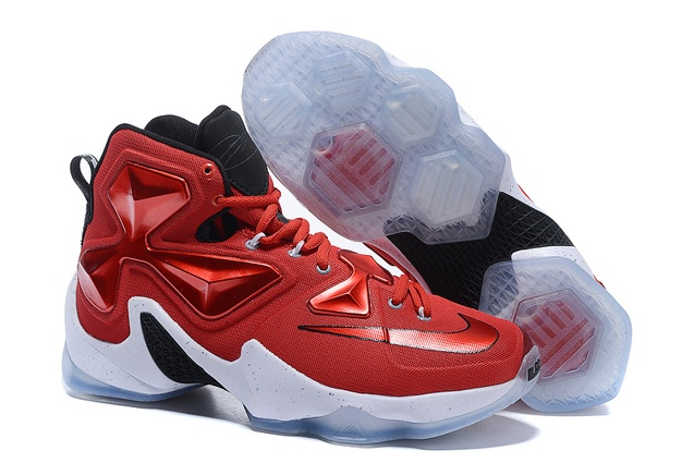 newest 9d621 d5a66 Prev Nike LeBron 13 XIII EP University Red White Black On Court Basketball  Shoes 807220 600. Zoom