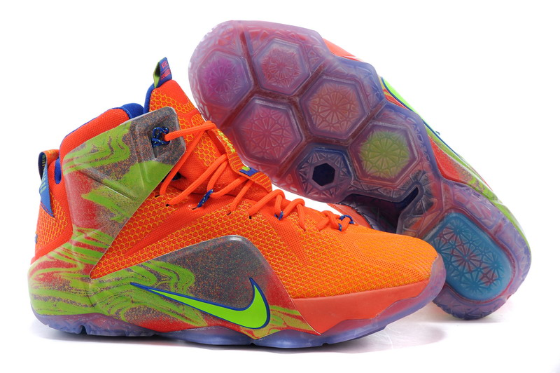 f3b1a73fc6cd4 Prev Nike Zoom Lebron XII 12 Men Basketball Shoes Orange Green. Zoom