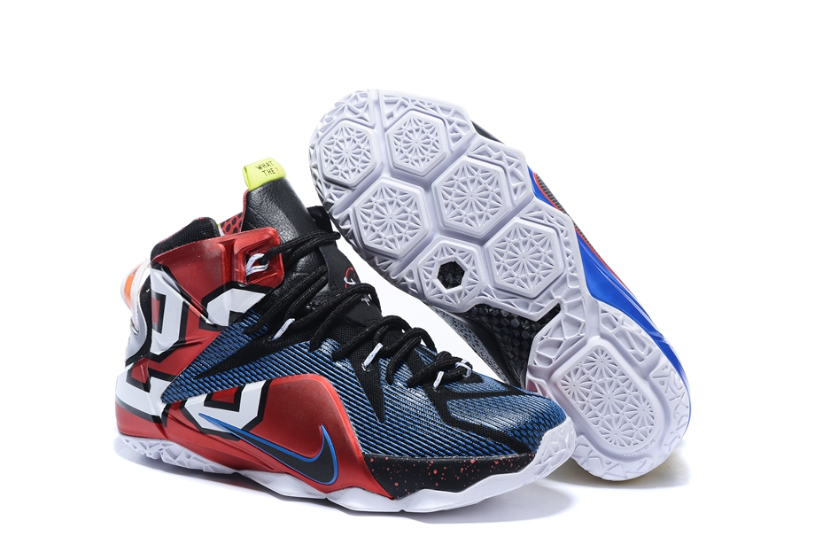 finest selection e0563 09d85 Prev Nike Zoom Lebron XII 12 Men Basketball Shoes Red Royal Blue White ...