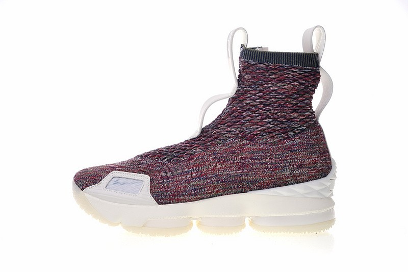 purchase cheap c5abf c24eb Nike Lebron XV Lif Kith Stained Glass Color Multi AO1068-900