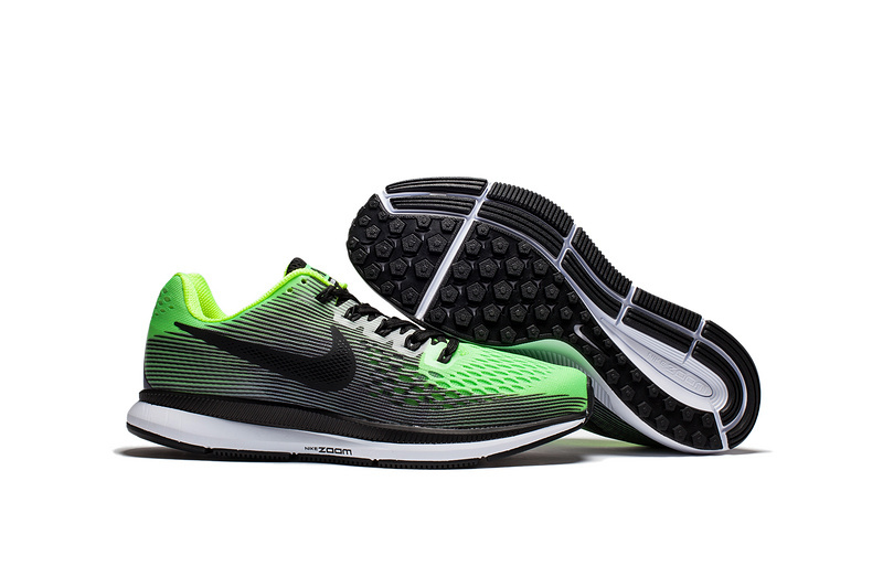 best value 49372 2a7b3 Nike Air Zoom Pegasus 34 EM Bright Green Black White Men Running Shoes  Sneakers Trainers 880555-406 - Sepsport