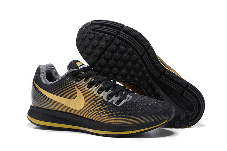 26b32c05b2616 Prev Nike Air Zoom Pegasus 34 EM Men Running Shoes Sneakers Trainers Black  Gold 831350-011. Zoom