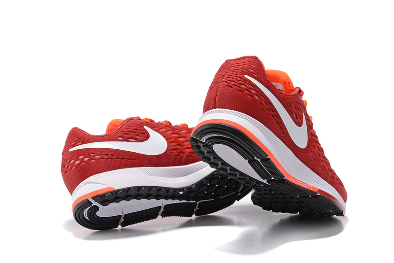 e48a81eee79 ... Nike Air Zoom Pegasus 34 EM Men Running Shoes Sneakers Trainers Crisom  Orange White 831350-