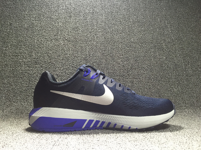 nike structure 21 blue