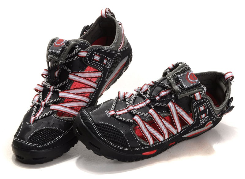 Timberland Black Red Beach Shoes Mens
