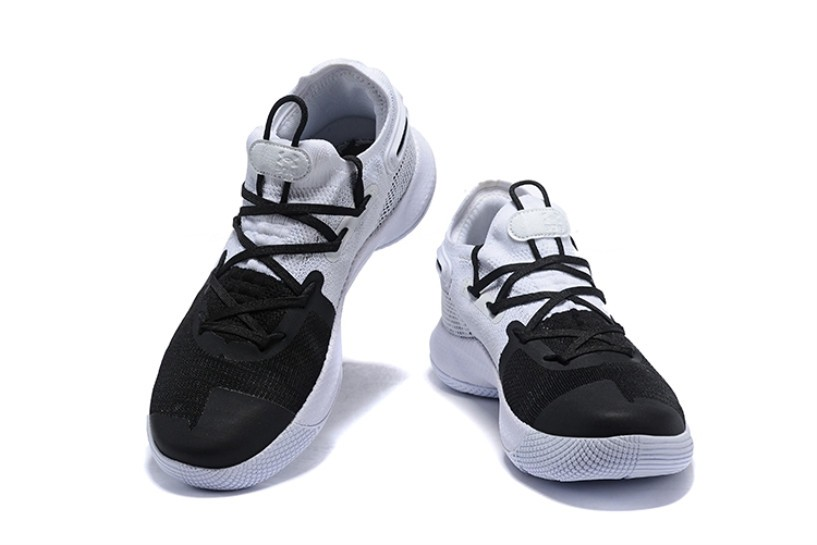best service 625c5 3dc55 Under Armour Curry 6 White Black Silver 3020612-101